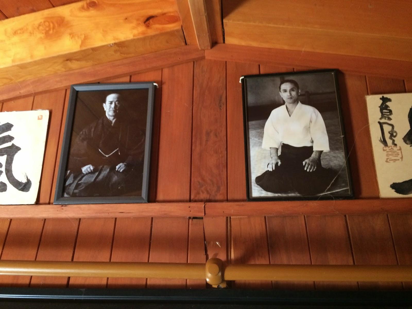Koichi Tohei & Gozo Shioda Aikido Masters