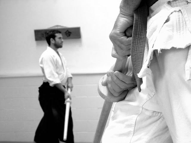 16 July 2016 Shiseikan Budo Kenjutsu Seminar with Filip Maric, Mushinkan Aikido Dojo Helensville/NZ