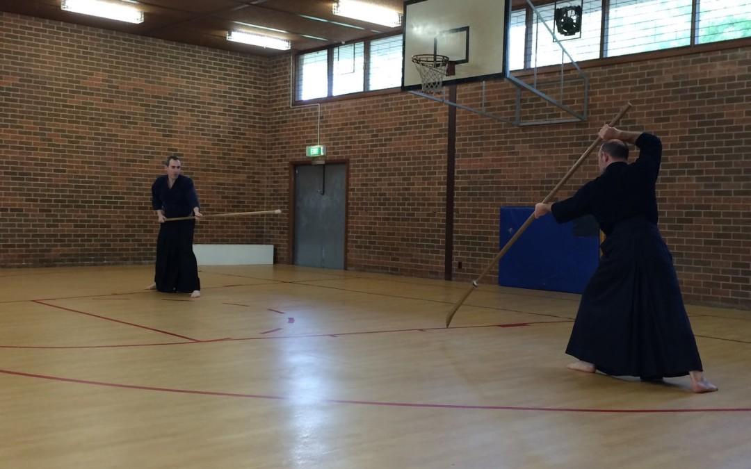 Old flows, present dangers and new friendships – Liam Keeley Sensei and the Koryu Kenkyukai Melbourne