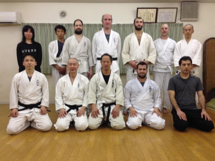 Aunkai Tokyo Hombu - Akuzawa Minoru Sensei