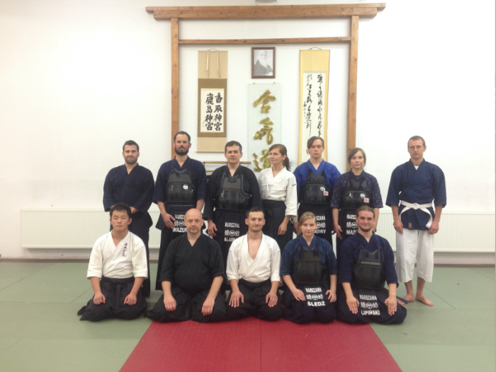 Calm and Storm Martial Arts - Budojo Warsaw Kendo Group photo