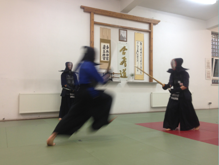 Calm and Storm Martial Arts - Budojo Warsaw Kendo Tachiai