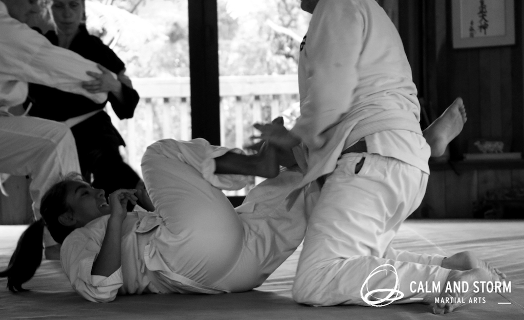 Calm and Storm Martial Arts 2016_11 Aunkai Koru Dojo IMG_5744 BWweb
